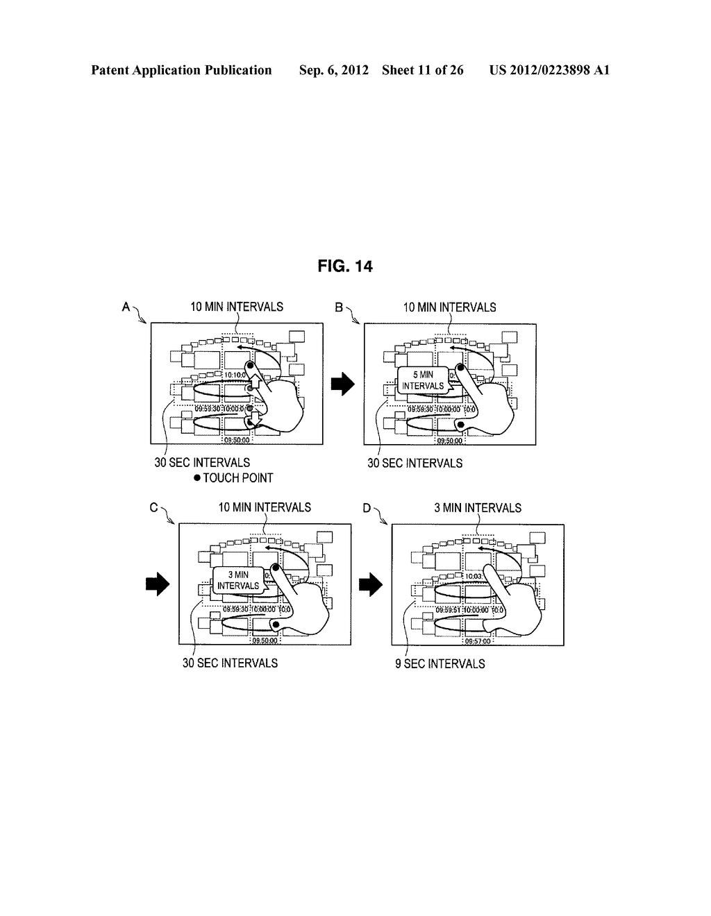 DISPLAY CONTROL DEVICE, DISPLAY CONTROL METHOD, AND PROGRAM - diagram, schematic, and image 12