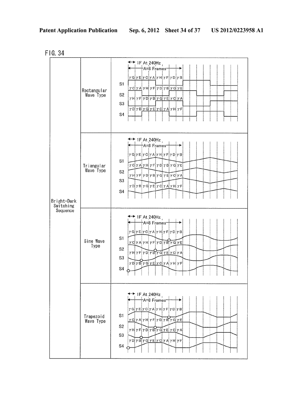 DISPLAY DEVICE AND METHOD FOR DRIVING DISPLAY DEVICE - diagram, schematic, and image 35
