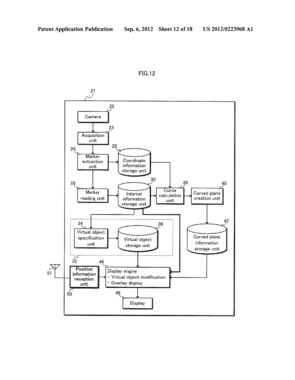 DISPLAY PROCESSING DEVICE, DISPLAY METHOD, AND PROGRAM - diagram, schematic, and image 13