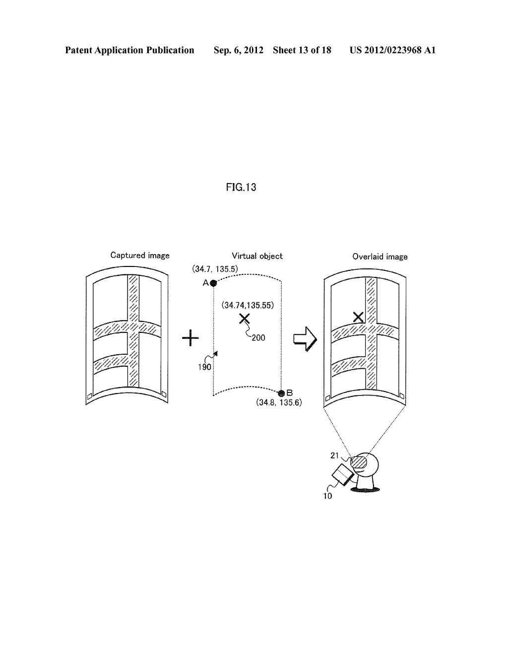 DISPLAY PROCESSING DEVICE, DISPLAY METHOD, AND PROGRAM - diagram, schematic, and image 14