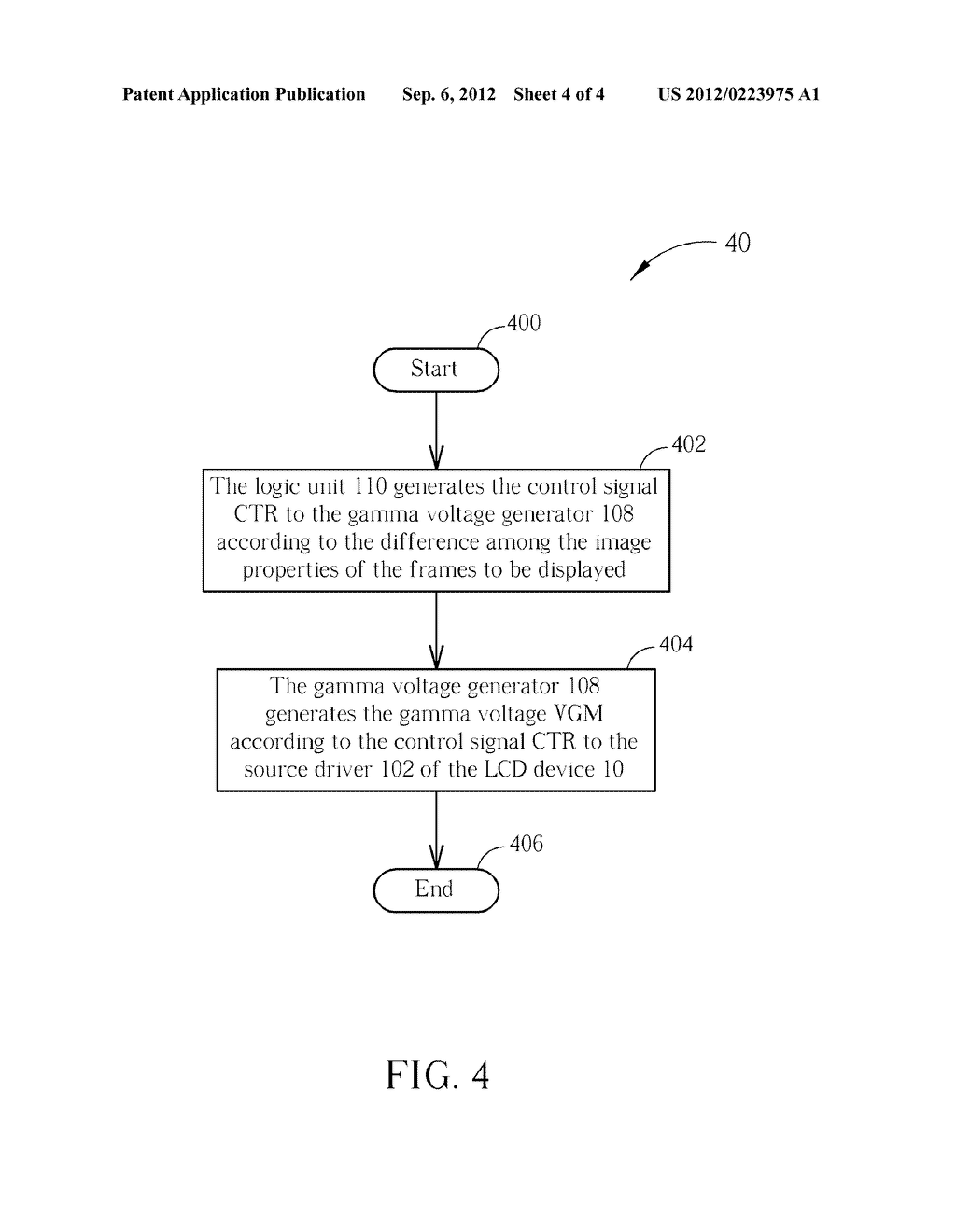 Method and Apparatus for Driving a Display Device - diagram, schematic, and image 05