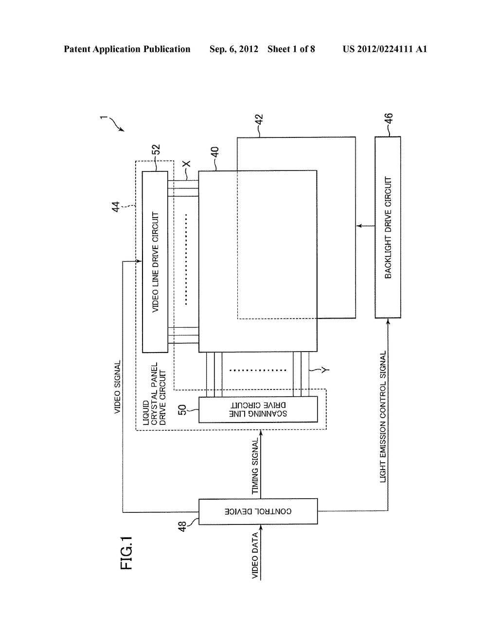 PLANAR LIGHT SOURCE DEVICE, LIQUID CRYSTAL DISPLAY DEVICE, AND TELEVISION     SET - diagram, schematic, and image 02