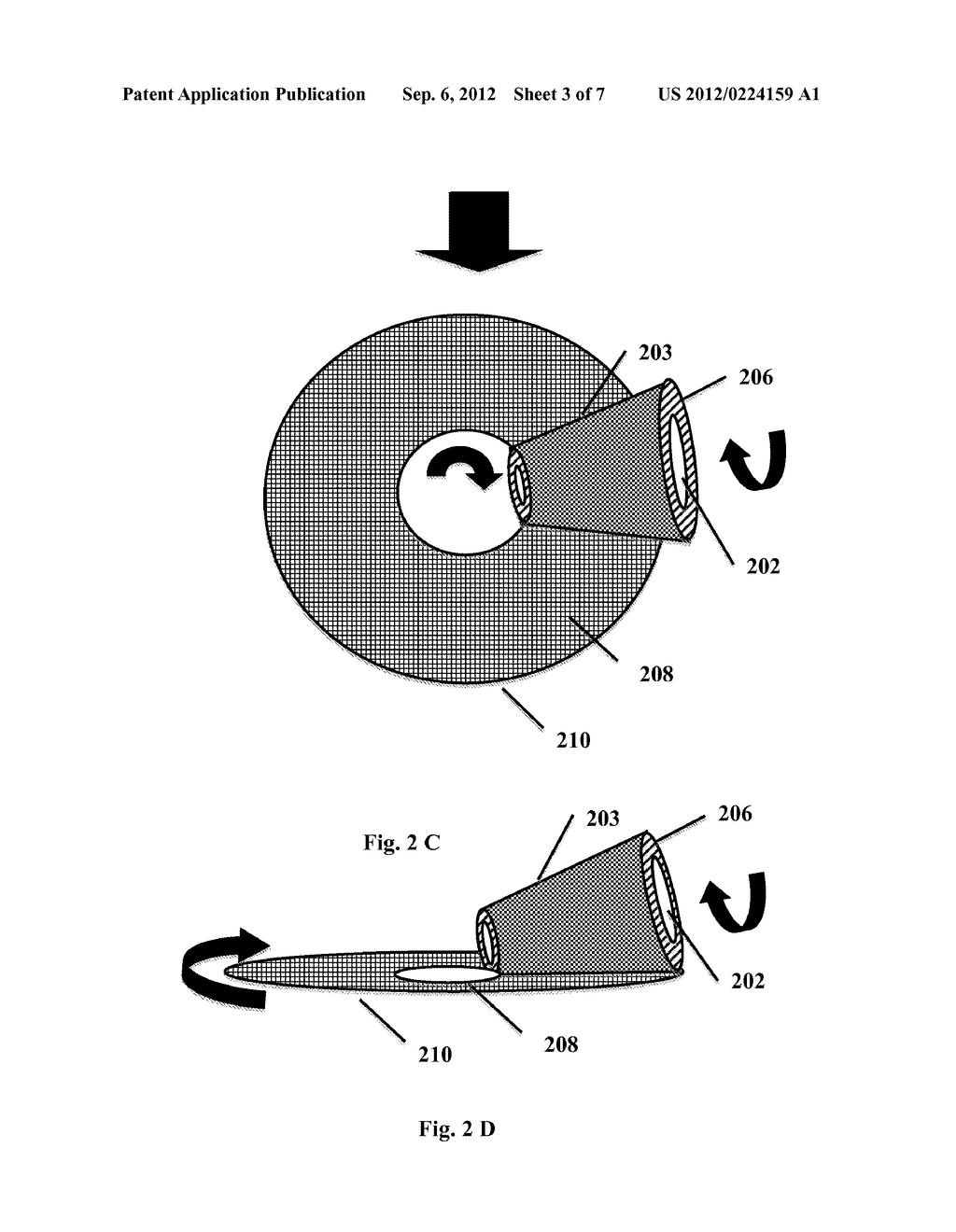 METHOD AND APPARATUS FOR PATTERNING A DISK - diagram, schematic, and image 04