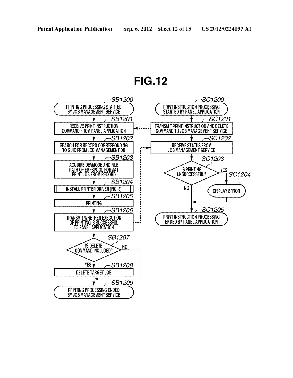 INFORMATION PROCESSING APPARATUS, PRINTING SYSTEM, AND METHOD FOR     CONTROLLING THE SAME - diagram, schematic, and image 13