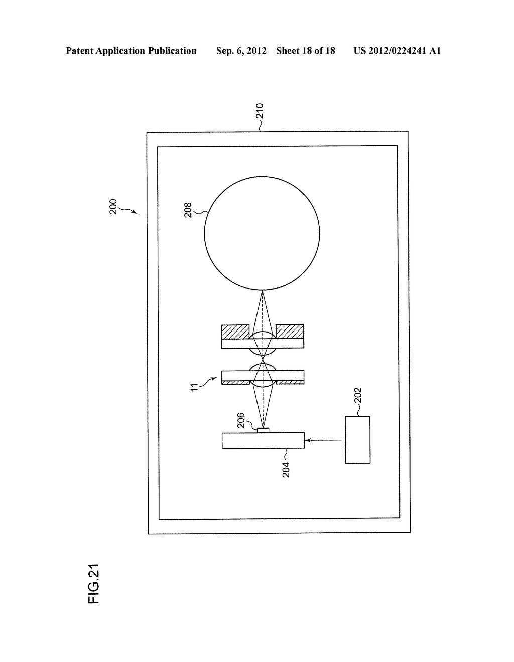 ERECTING EQUAL-MAGNIFICATION LENS ARRAY PLATE, OPTICAL SCANNING UNIT,     IMAGE READING DEVICE, AND IMAGE WRITING DEVICE - diagram, schematic, and image 19