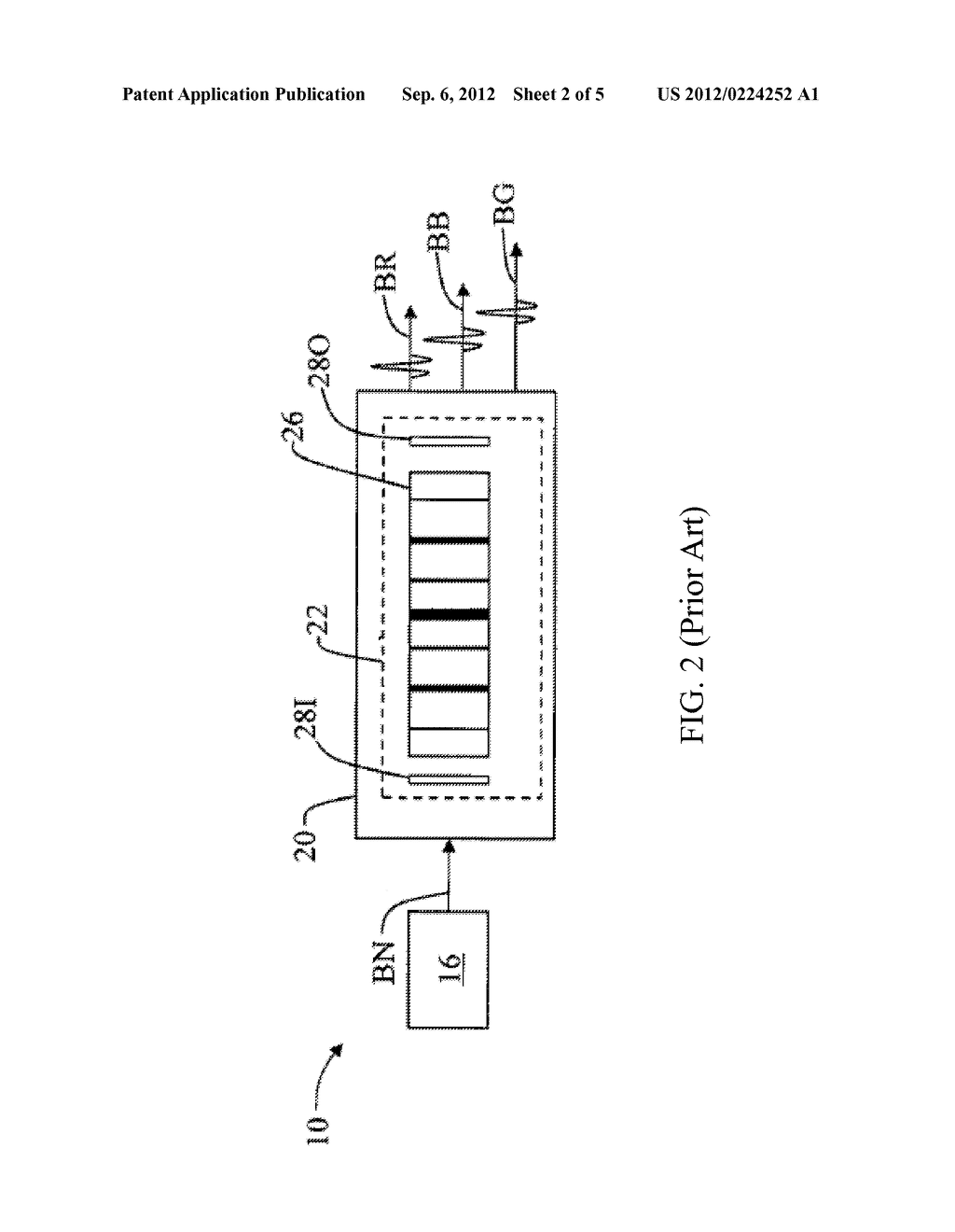 LIGHT CONVERSION MODULE AND LIGHT SOURCE SYSTEM INCLUDING THE SAME - diagram, schematic, and image 03