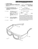 EYEGLASSES FOR PERSONAL AND COMMERCIAL USE INCLUDING REUSE IN 3D THEATER     AND OTHER REPEATED OPERATIONS diagram and image