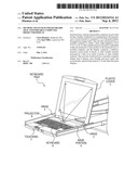Method and System for Keyboard Tray and Portable Computer Projector     Display diagram and image