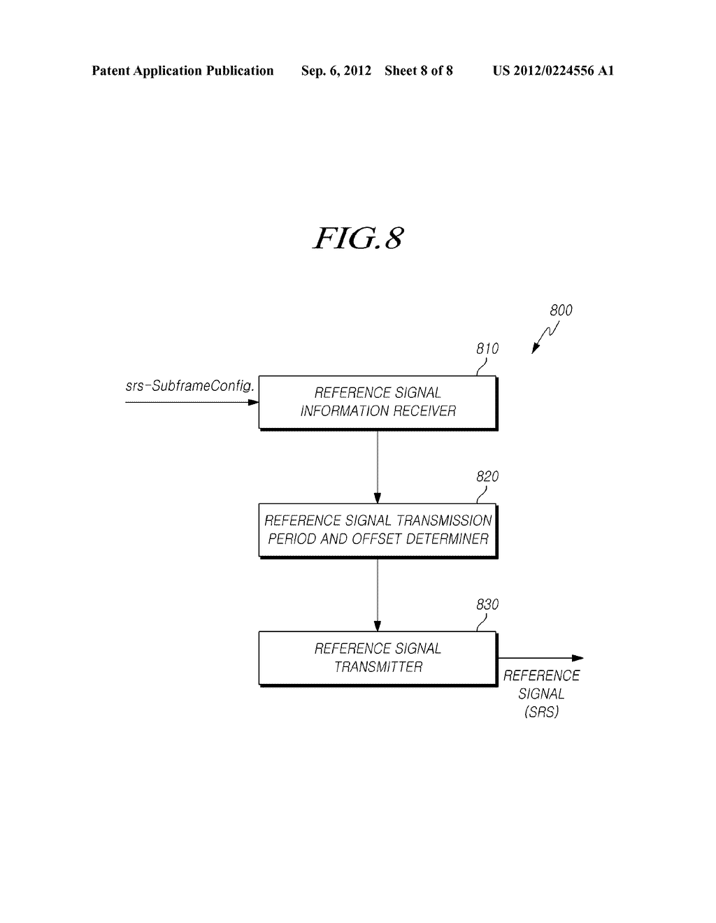 METHOD AND DEVICE FOR TRANSMITTING A REFERENCE SIGNAL AND REFERENCE SIGNAL     INFORMATION IN A COOPERATIVE MULTI-ANTENNA SENDING AND RECEIVING SYSTEM - diagram, schematic, and image 09