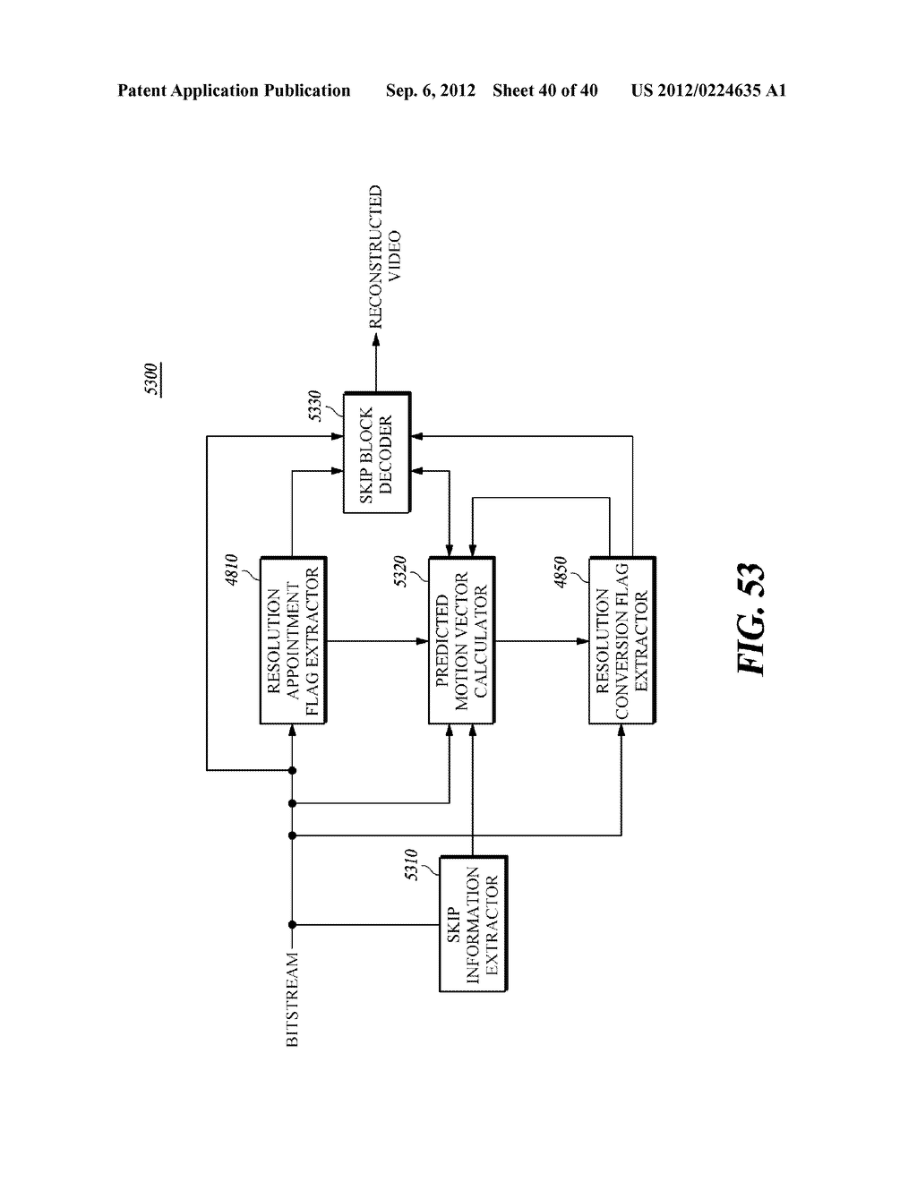 METHOD AND APPARATUS FOR ENCODING/DECODING IMAGES USING ADAPTIVE MOTION     VECTOR RESOLUTION - diagram, schematic, and image 41