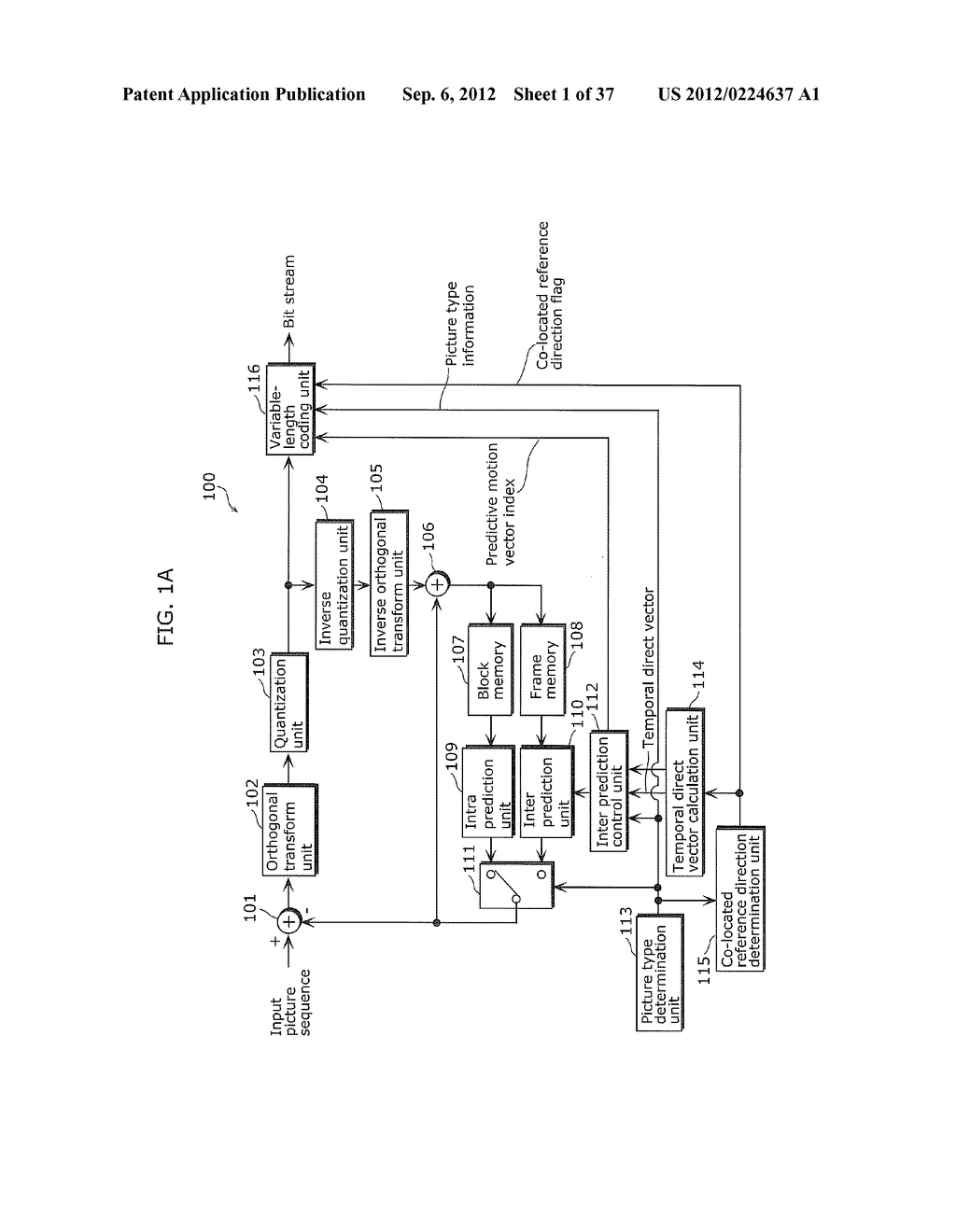 MOVING PICTURE CODING METHOD, MOVING PICTURE DECODING METHOD, MOVING     PICTURE CODING APPARATUS, MOVING PICTURE DECODING APPARATUS, AND MOVING     PICTURE CODING AND DECODING APPARATUS - diagram, schematic, and image 02