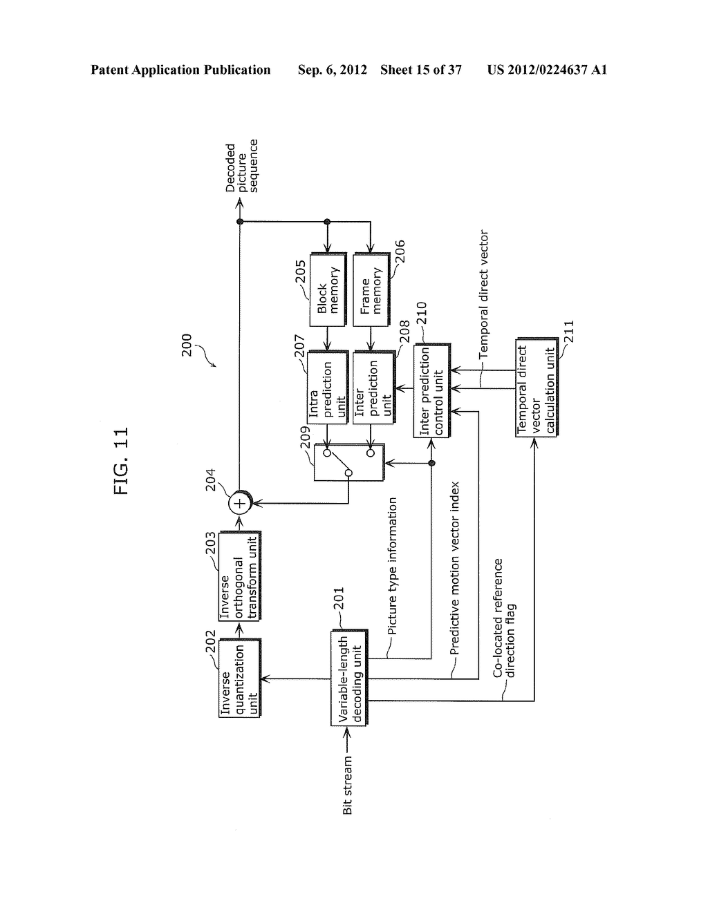 MOVING PICTURE CODING METHOD, MOVING PICTURE DECODING METHOD, MOVING     PICTURE CODING APPARATUS, MOVING PICTURE DECODING APPARATUS, AND MOVING     PICTURE CODING AND DECODING APPARATUS - diagram, schematic, and image 16
