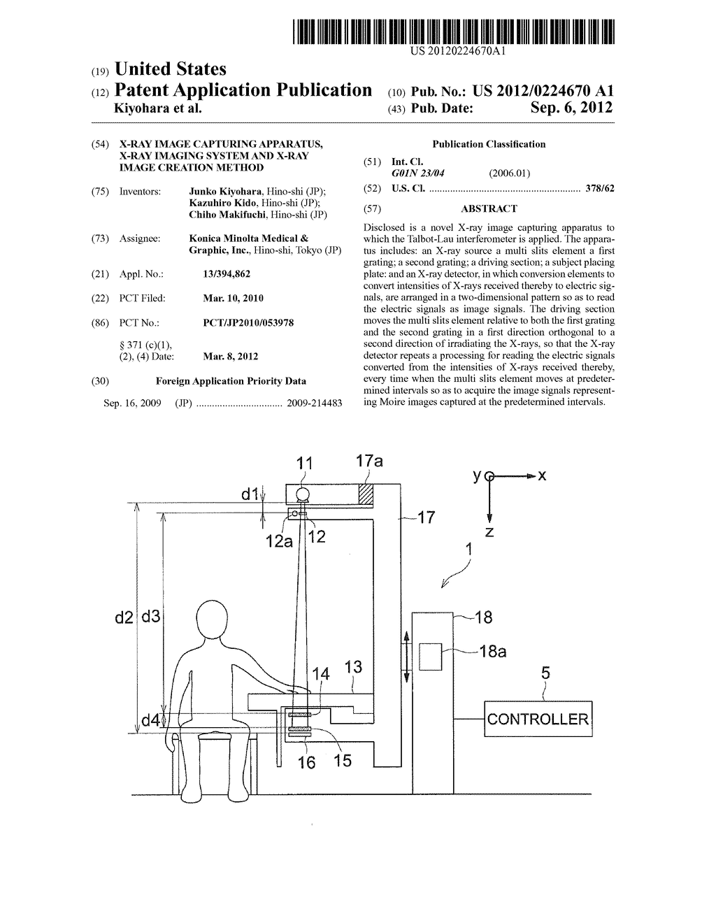 X-RAY IMAGE CAPTURING APPARATUS, X-RAY IMAGING SYSTEM AND X-RAY IMAGE     CREATION METHOD - diagram, schematic, and image 01