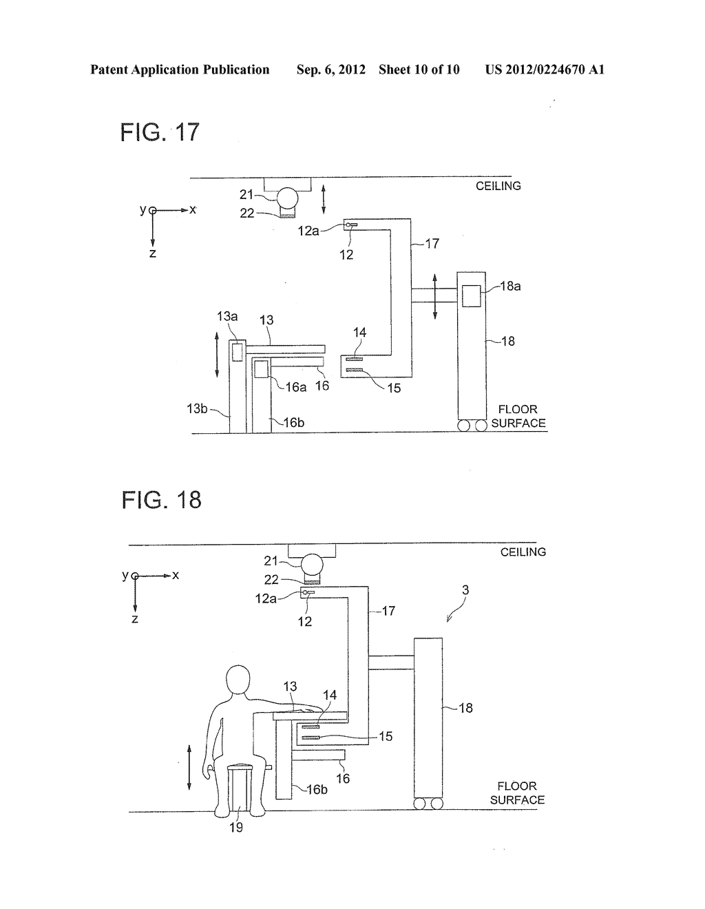 X-RAY IMAGE CAPTURING APPARATUS, X-RAY IMAGING SYSTEM AND X-RAY IMAGE     CREATION METHOD - diagram, schematic, and image 11