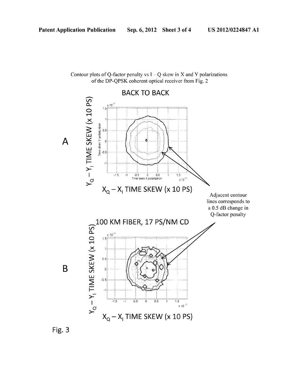 Quadrature Time Skew Detection for Coherent Optical Signals - diagram, schematic, and image 04