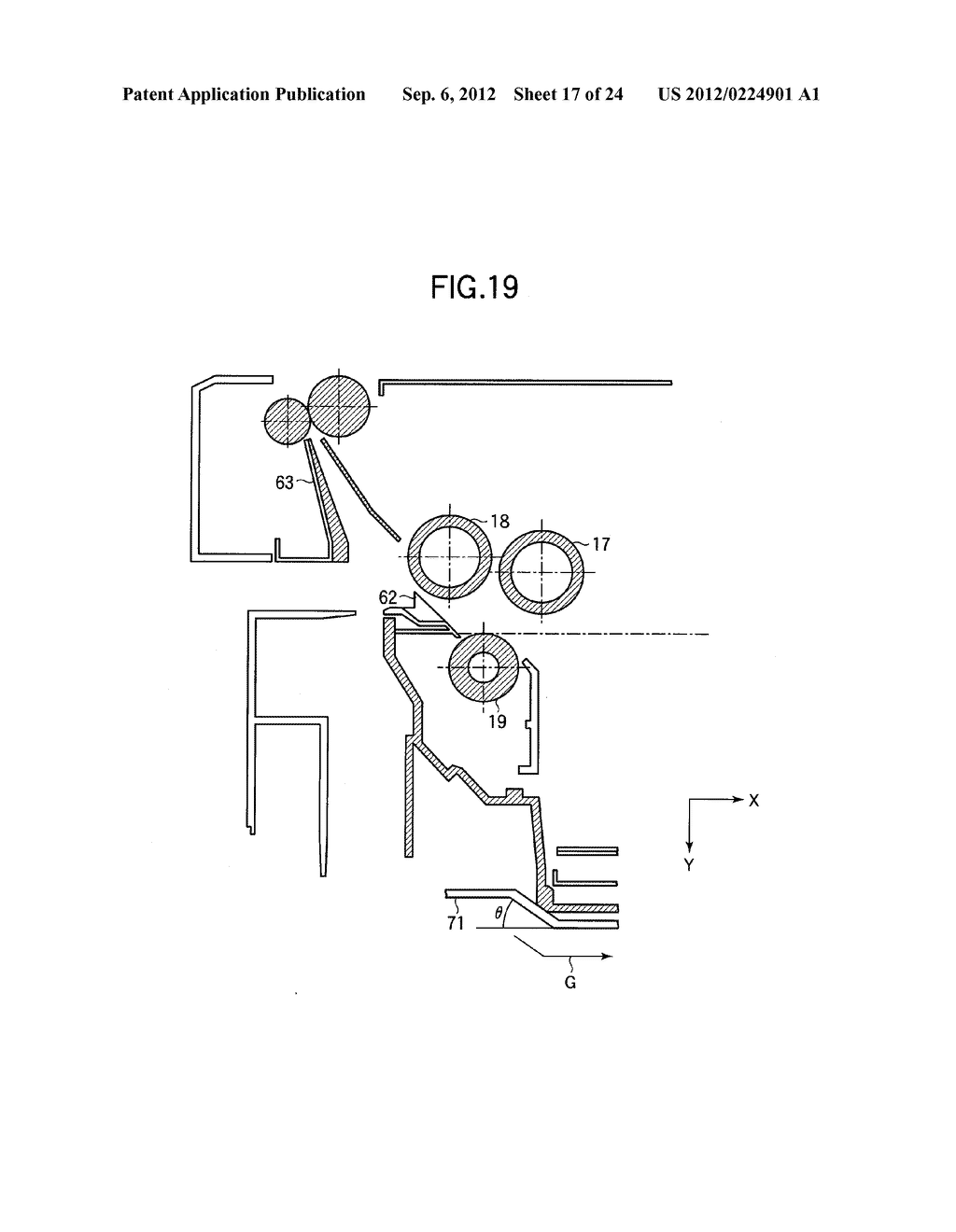 MEDIUM TRANSPORTING APPARATUS AND IMAGE FORMING APPARATUS THAT EMPLOYS THE     MEDIUM TRANSPORTING APPARATUS - diagram, schematic, and image 18