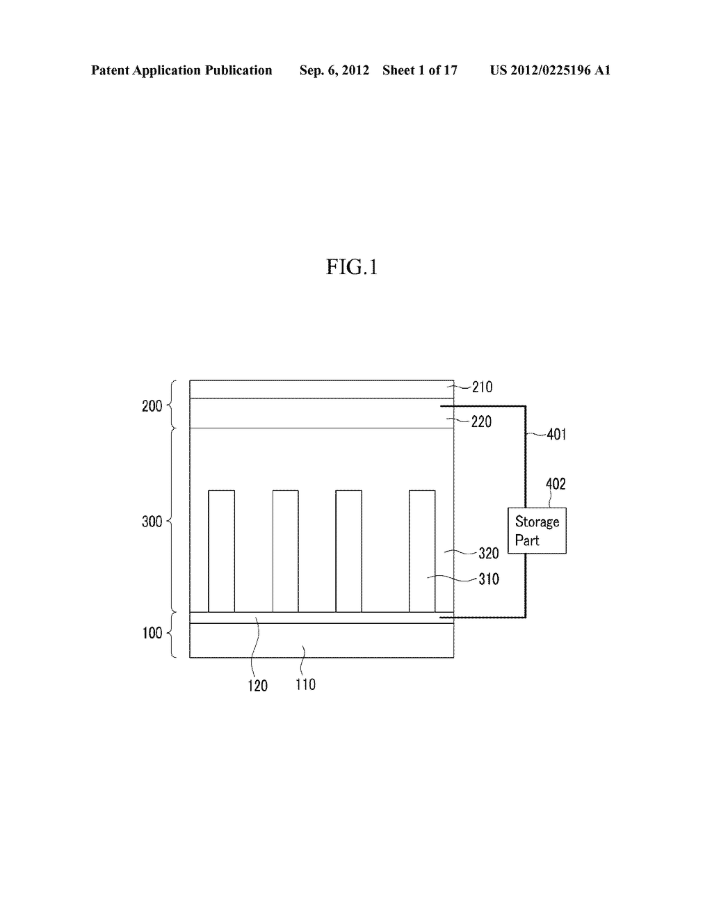 APPARATUS FOR GENERATING ELECTRICAL ENERGY AND METHOD FOR MANUFACTURING     THE SAME - diagram, schematic, and image 02