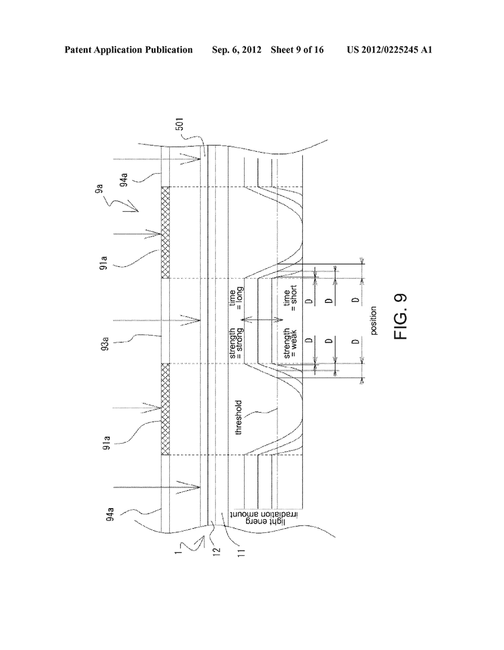 SPACER FORMING METHOD, METHOD OF MANUFACTURING DISPLAY PANEL SUBSTRATE,     SPACER, AND DISPLAY PANEL SUBSTRATE - diagram, schematic, and image 10