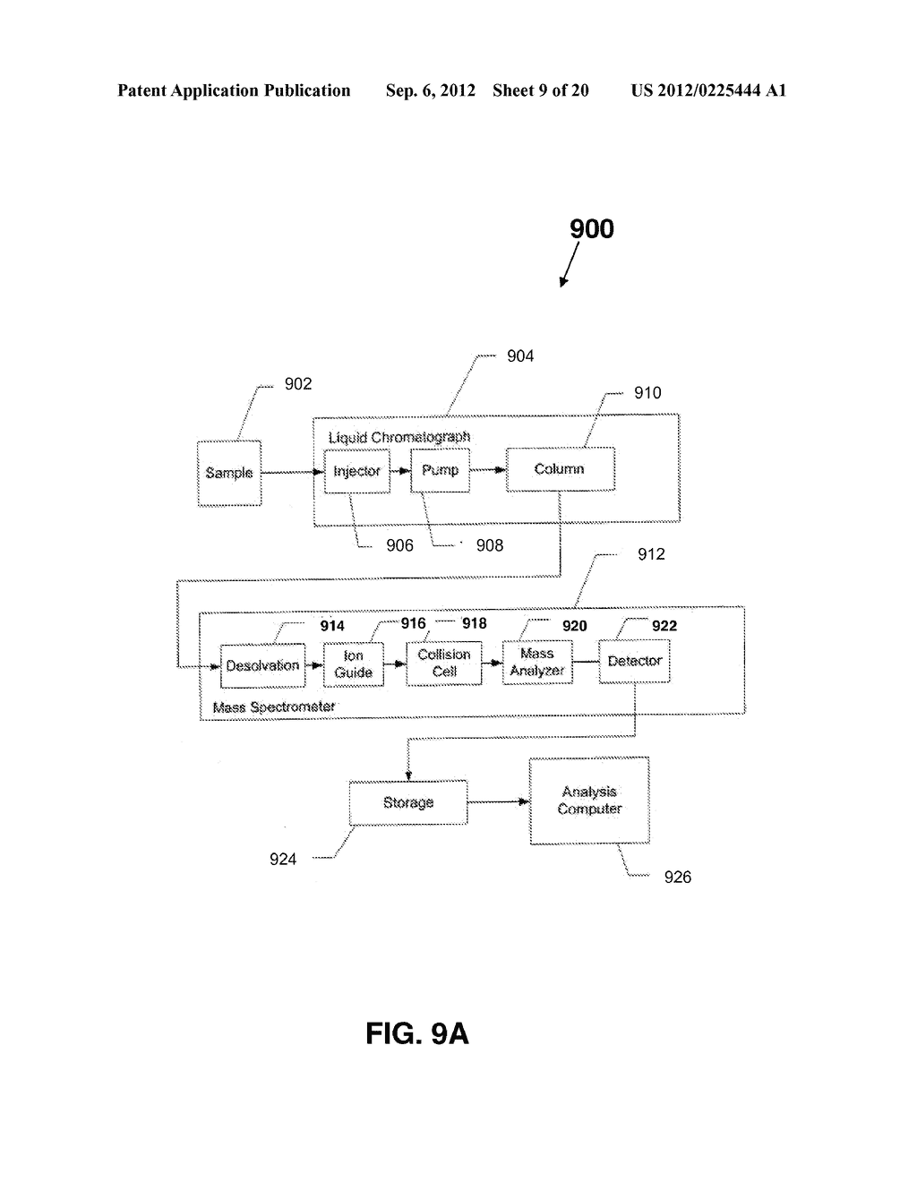 METHODS AND APPARATUS FOR FRACTIONATION-BASED CHEMICAL ANALYSES - diagram, schematic, and image 10