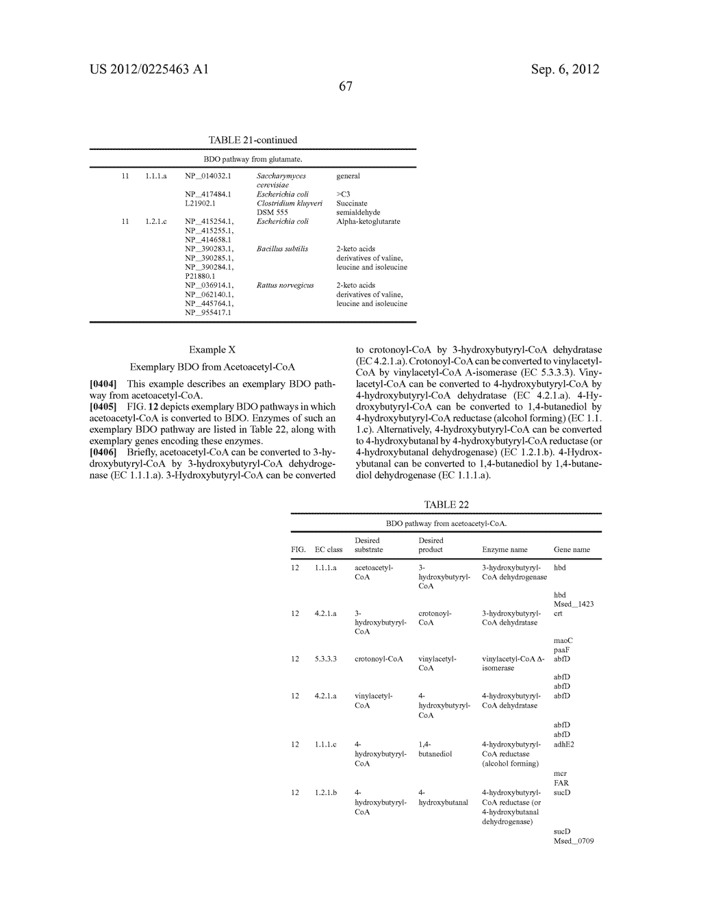 MICROORGANISMS FOR THE PRODUCTION OF 1,4-BUTANEDIOL AND RELATED METHODS - diagram, schematic, and image 129