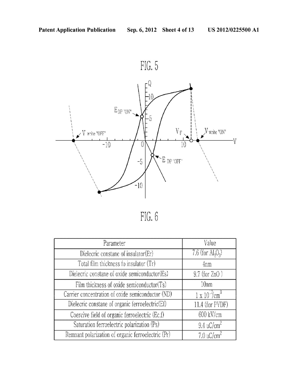 TRANSPARENT NONVOLATILE MEMORY THIN FILM TRANSISTOR AND METHOD OF     MANUFACTURING THE SAME - diagram, schematic, and image 05