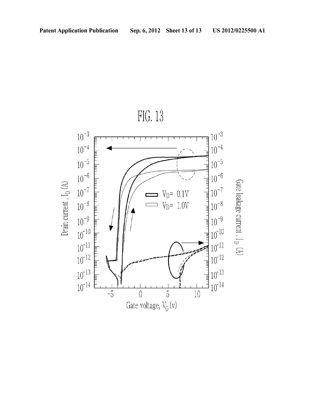 TRANSPARENT NONVOLATILE MEMORY THIN FILM TRANSISTOR AND METHOD OF     MANUFACTURING THE SAME - diagram, schematic, and image 14