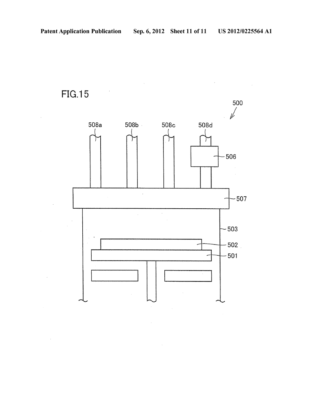VAPOR DEPOSITION DEVICE, VAPOR DEPOSITION METHOD, AND SEMICONDUCTOR     ELEMENT MANUFACTURING METHOD - diagram, schematic, and image 12