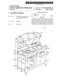 COLLAPSIBLE TOY KITCHEN APPARATUSES AND METHODS diagram and image