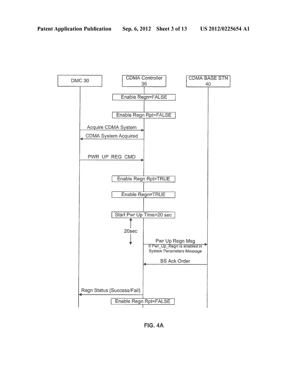 SYSTEM AND METHOD OF CONTROLLING REGISTRATION ON A MULTI-TECHNOLOGY     HANDSET - diagram, schematic, and image 04