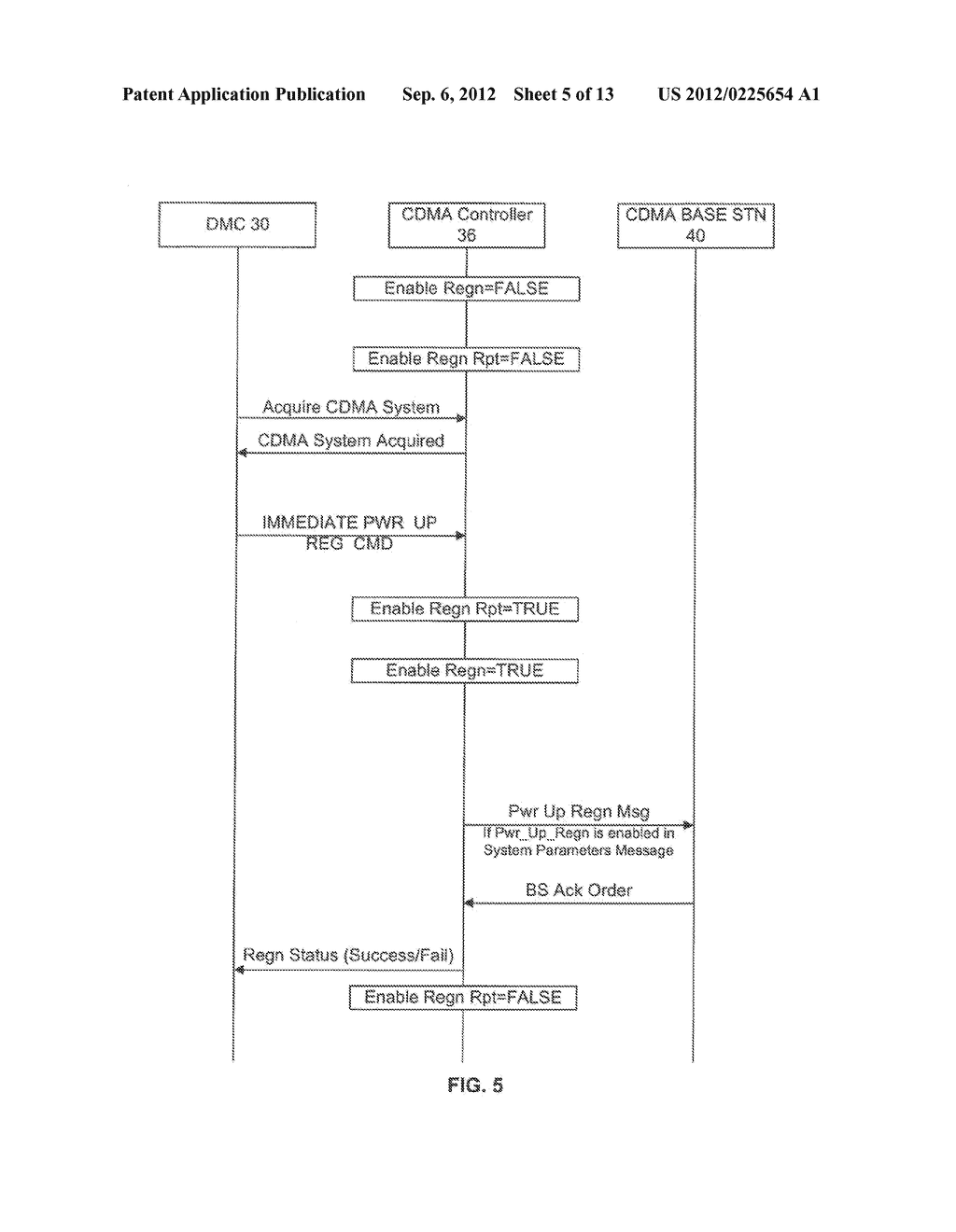 SYSTEM AND METHOD OF CONTROLLING REGISTRATION ON A MULTI-TECHNOLOGY     HANDSET - diagram, schematic, and image 06
