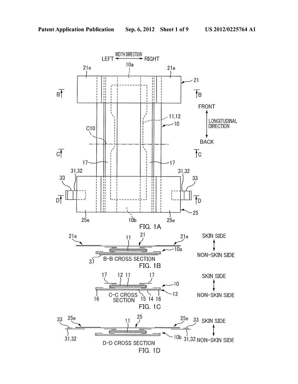 MANUFACTURING METHOD AND A MANUFACTURING APPARATUS FOR A SHEET-LIKE MEMBER     ASSOCIATED WITH AN ABSORBENT ARTICLE - diagram, schematic, and image 02
