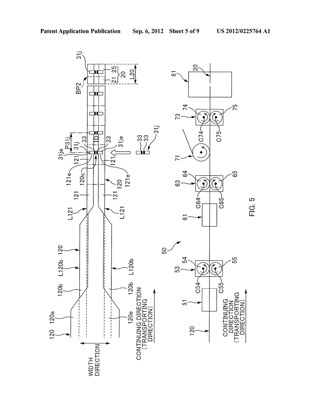 MANUFACTURING METHOD AND A MANUFACTURING APPARATUS FOR A SHEET-LIKE MEMBER     ASSOCIATED WITH AN ABSORBENT ARTICLE - diagram, schematic, and image 06