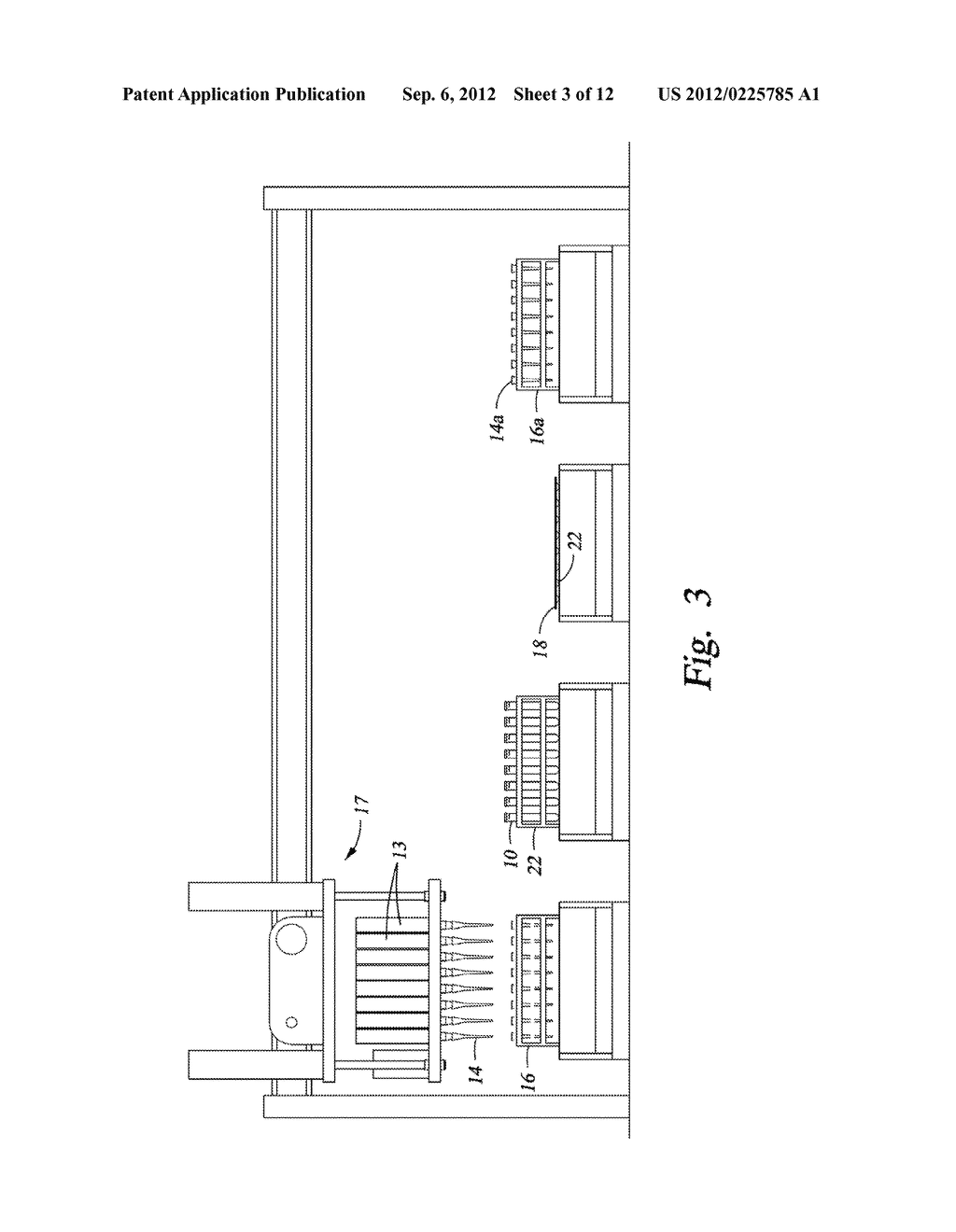 Automated Storage of a Discrete Sample Among Multiple Samples And     Automated Selection of Such Discrete Sample for Processing - diagram, schematic, and image 04