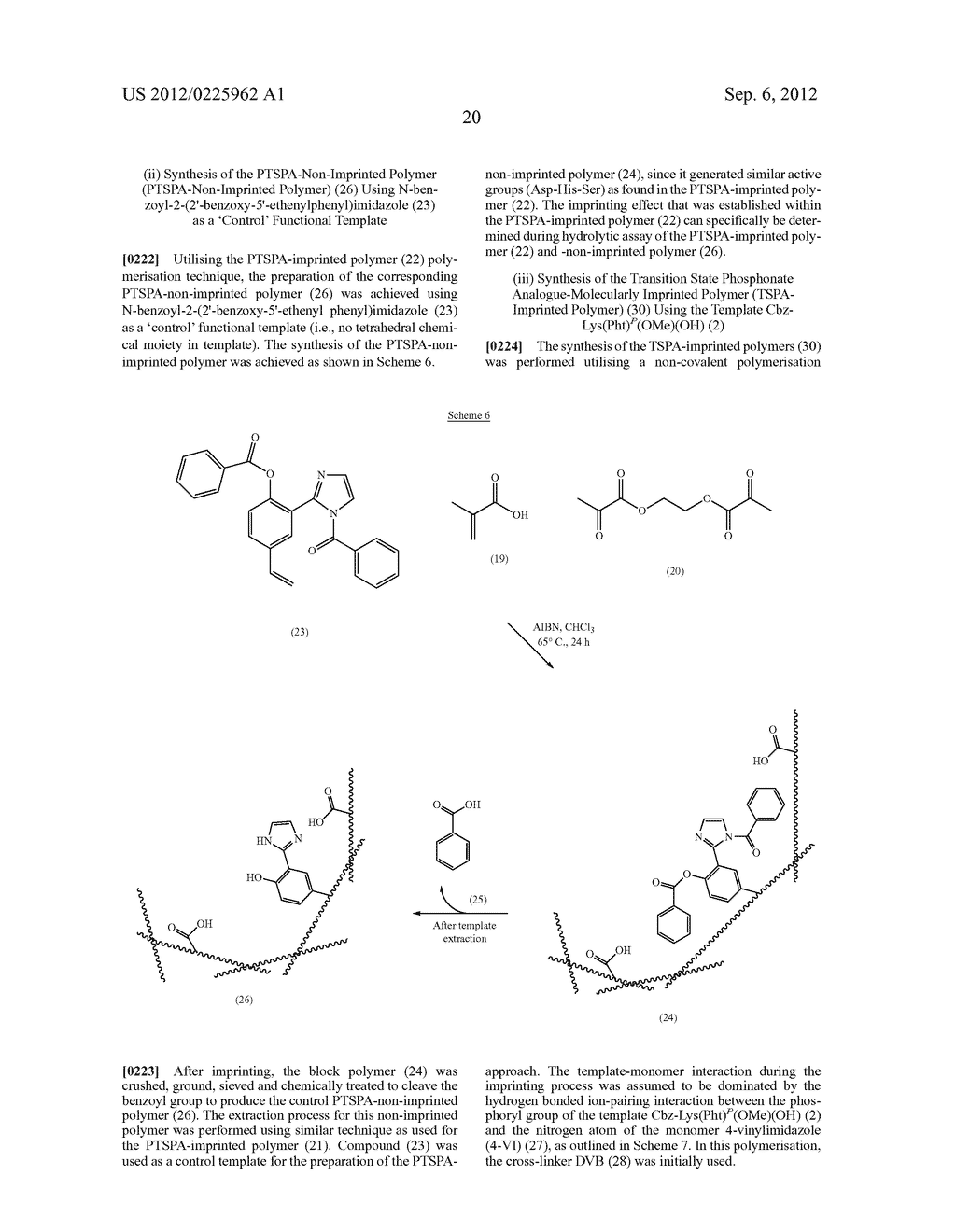 MOLECULARLY IMPRINTED POLYMERS, METHODS FOR THEIR PRODUCTION AND USES     THEREOF - diagram, schematic, and image 25