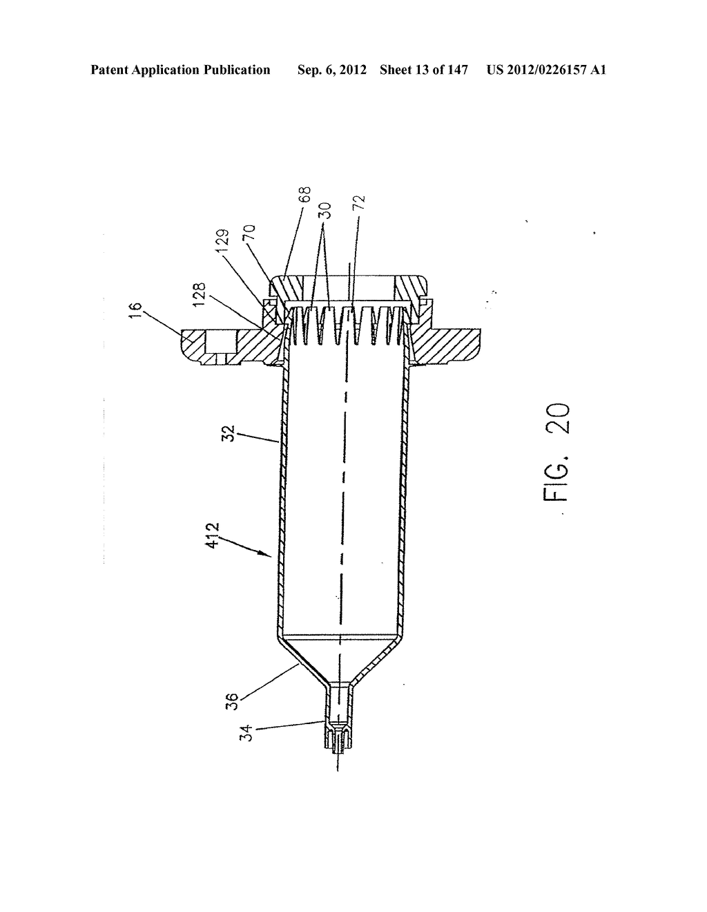 METHOD OF INJECTING FLUIDS FROM A DUAL SYRINGE INJECTOR SYSTEM - diagram, schematic, and image 14