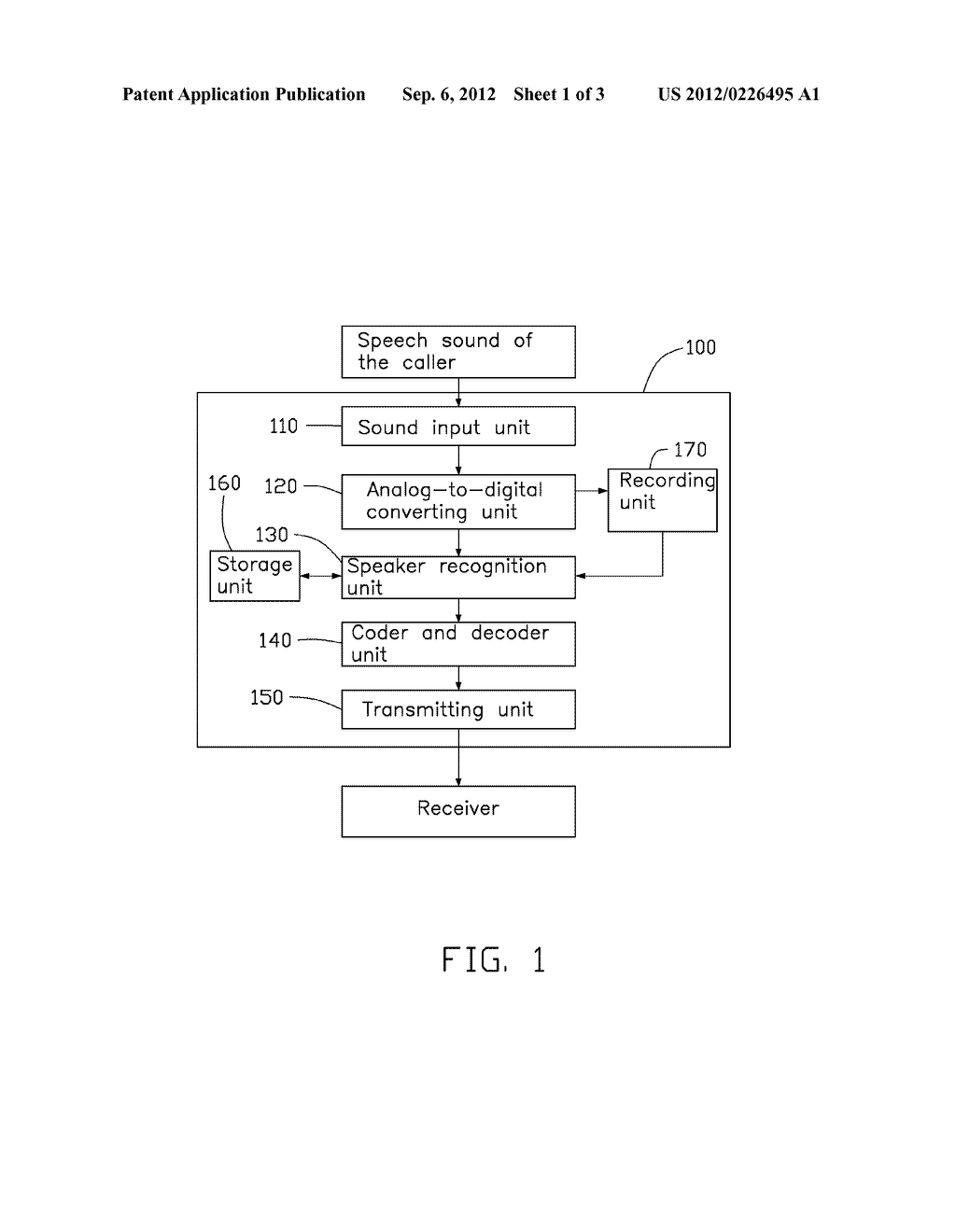 DEVICE AND METHOD FOR FILTERING OUT NOISE FROM SPEECH OF CALLER - diagram, schematic, and image 02