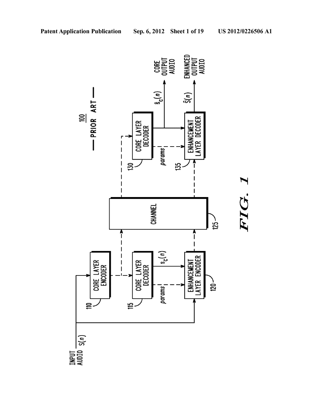 METHOD AND APPARATUS FOR GENERATING AN ENHANCEMENT LAYER WITHIN A     MULTIPLE-CHANNEL AUDIO CODING SYSTEM - diagram, schematic, and image 02