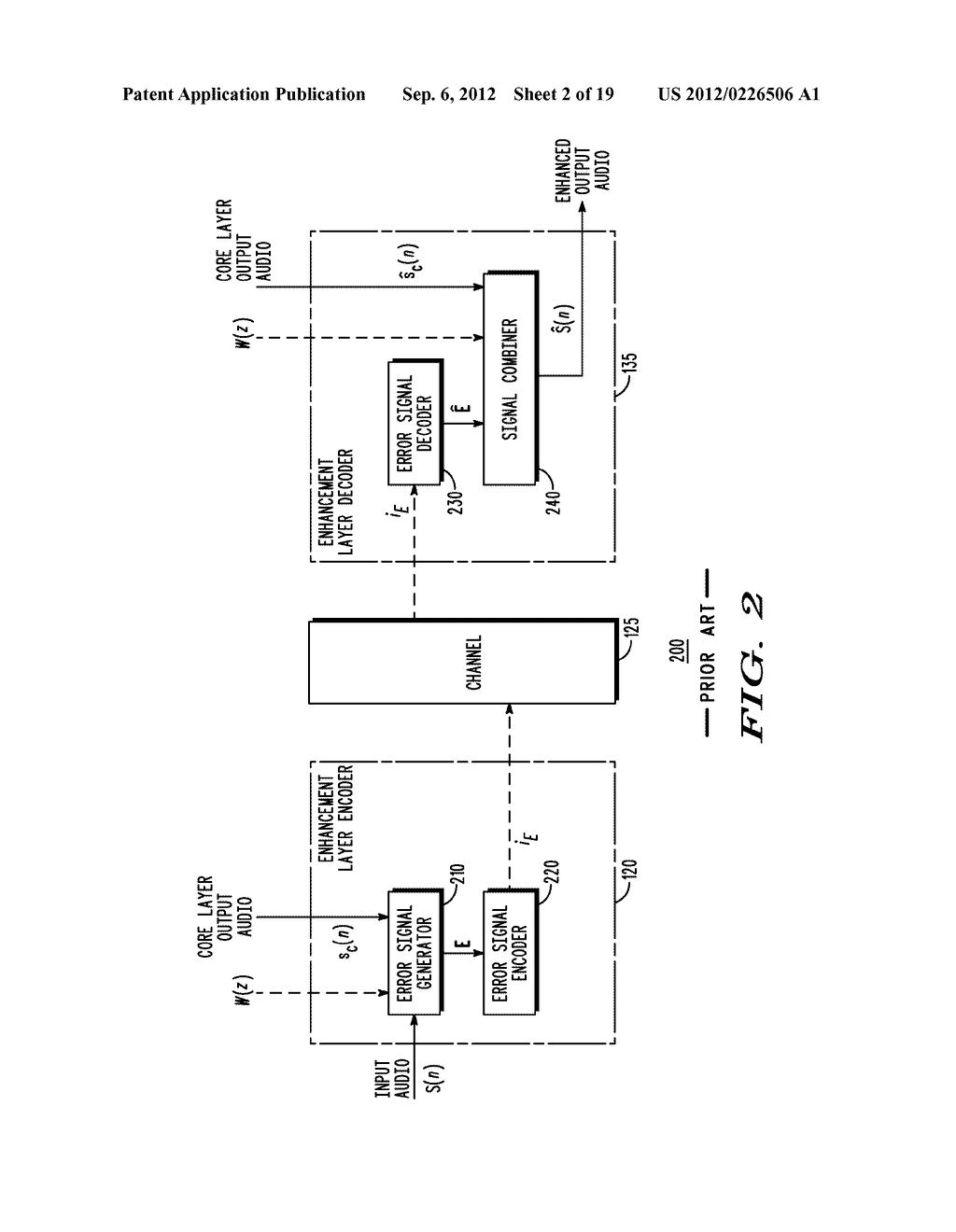 METHOD AND APPARATUS FOR GENERATING AN ENHANCEMENT LAYER WITHIN A     MULTIPLE-CHANNEL AUDIO CODING SYSTEM - diagram, schematic, and image 03