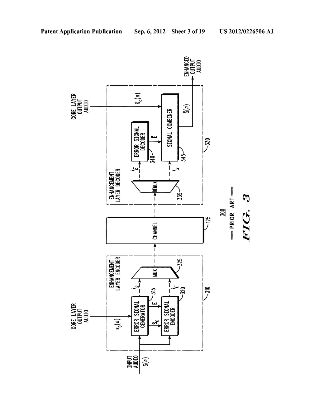 METHOD AND APPARATUS FOR GENERATING AN ENHANCEMENT LAYER WITHIN A     MULTIPLE-CHANNEL AUDIO CODING SYSTEM - diagram, schematic, and image 04