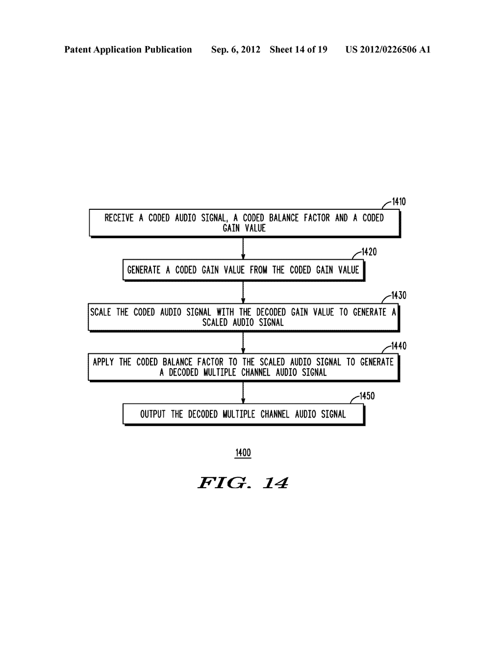 METHOD AND APPARATUS FOR GENERATING AN ENHANCEMENT LAYER WITHIN A     MULTIPLE-CHANNEL AUDIO CODING SYSTEM - diagram, schematic, and image 15