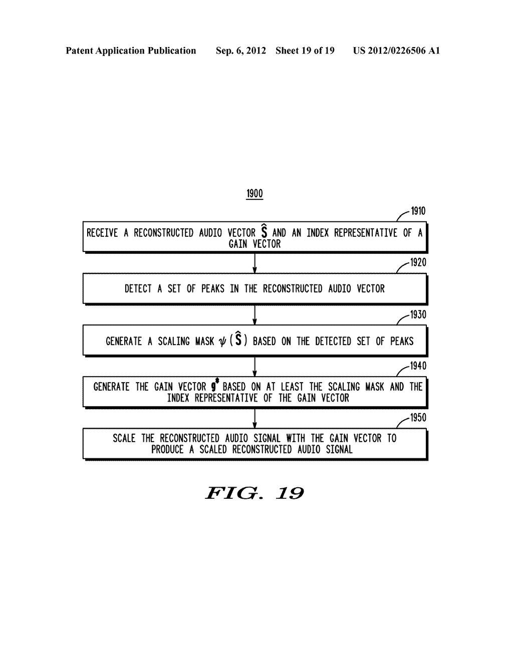 METHOD AND APPARATUS FOR GENERATING AN ENHANCEMENT LAYER WITHIN A     MULTIPLE-CHANNEL AUDIO CODING SYSTEM - diagram, schematic, and image 20