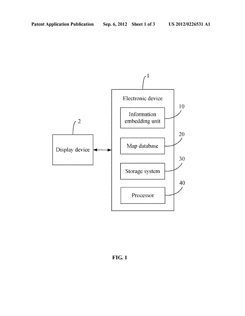 ELECTRONIC DEVICE AND METHOD FOR EMBEDDING PRODUCT INFORMATION IN     ELECTRONIC MAP WITH PRODUCT PLACEMENTS - diagram, schematic, and image 02