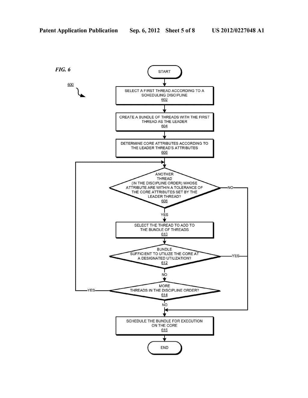 FRAMEWORK FOR SCHEDULING MULTICORE PROCESSORS - diagram, schematic, and image 06