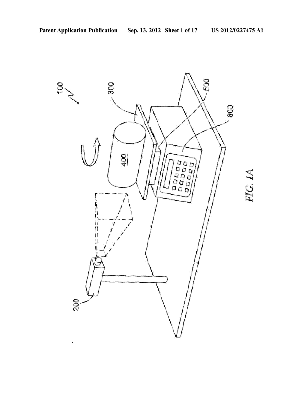 METHOD AND APPARATUS FOR DETERMINING A CHARACTERISTIC OF A CONSTRUCTION     MATERIAL - diagram, schematic, and image 02
