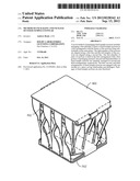 METHOD OF PACKAGING AND PACKAGE OF FIXED-TEMPLE EYEWEAR diagram and image