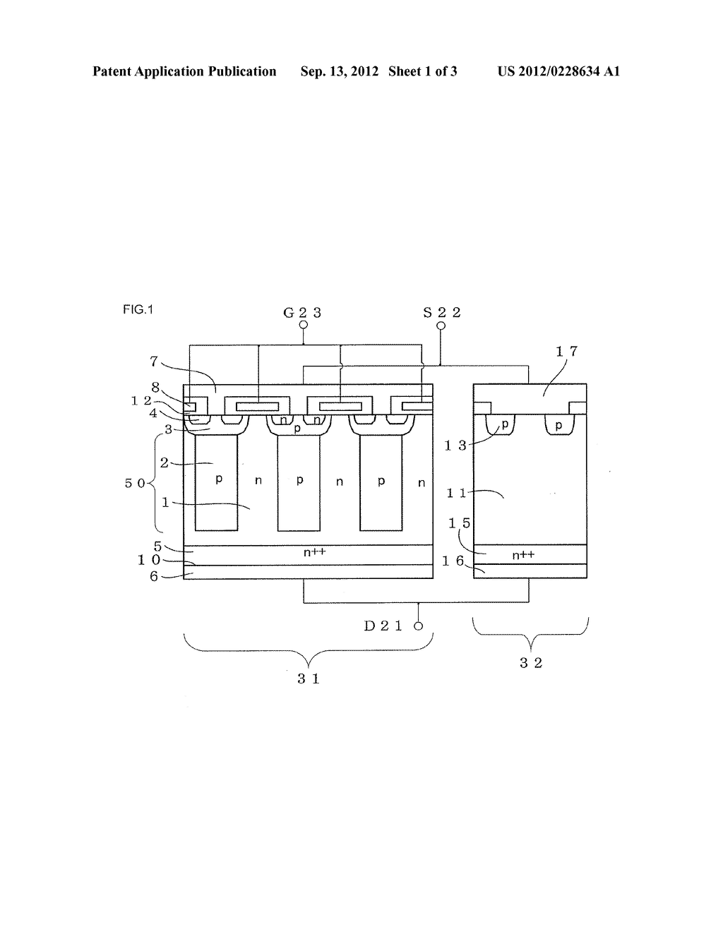 COMBINED SEMICONDUCTOR DEVICE - diagram, schematic, and image 02