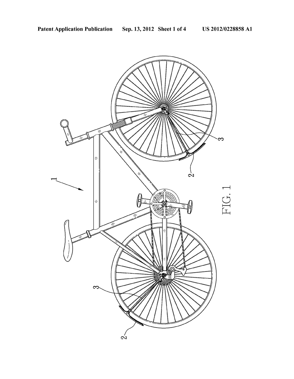 FENDER WITH DRAINAGE FOR BICYCLE - diagram, schematic, and image 02