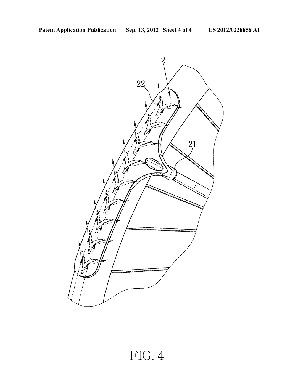 FENDER WITH DRAINAGE FOR BICYCLE - diagram, schematic, and image 05