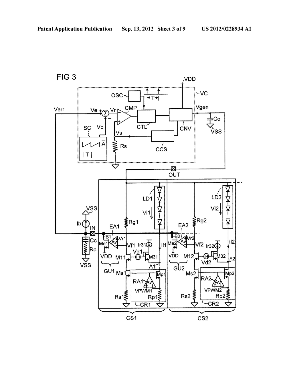 Multi-Current Source and Method for Regulating Current - diagram, schematic, and image 04