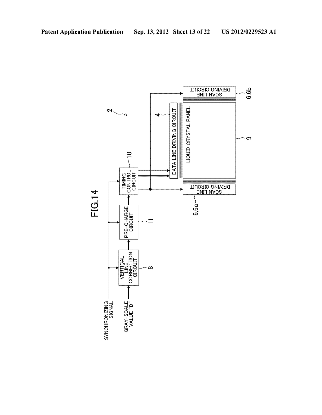 LIQUID CRYSTAL DISPLAY DEVICE - diagram, schematic, and image 14